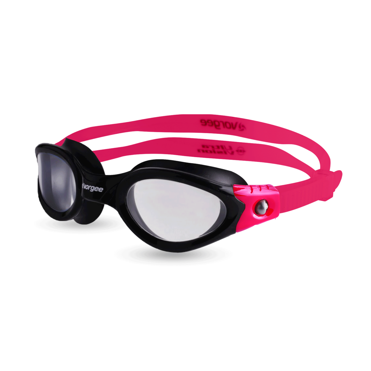 Black & Pink - NBCF Vortech Clear - Fitness Goggle - website