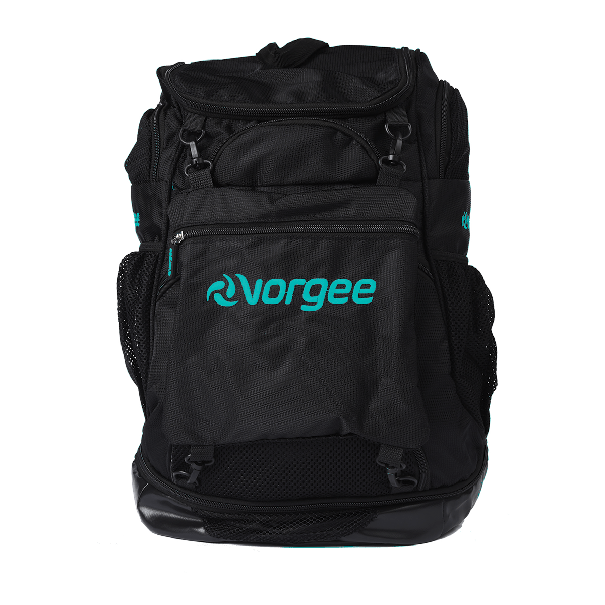 Vorgee Backpack - Black with Teal Logo 1200
