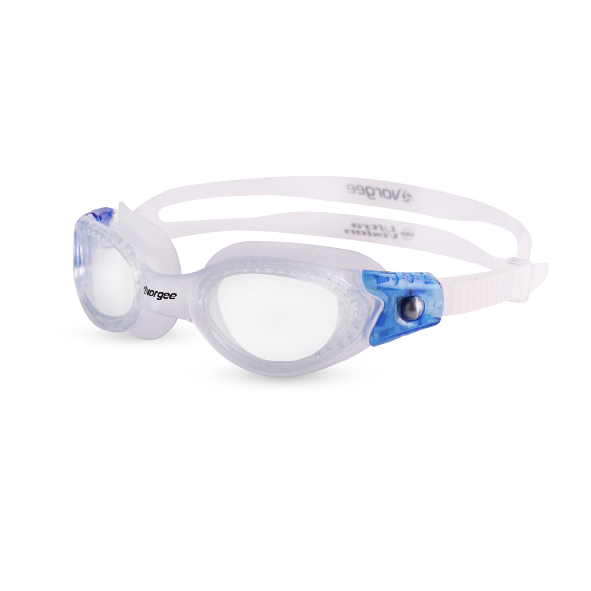 Vortech Narrow Fit Clear - translucent & blue