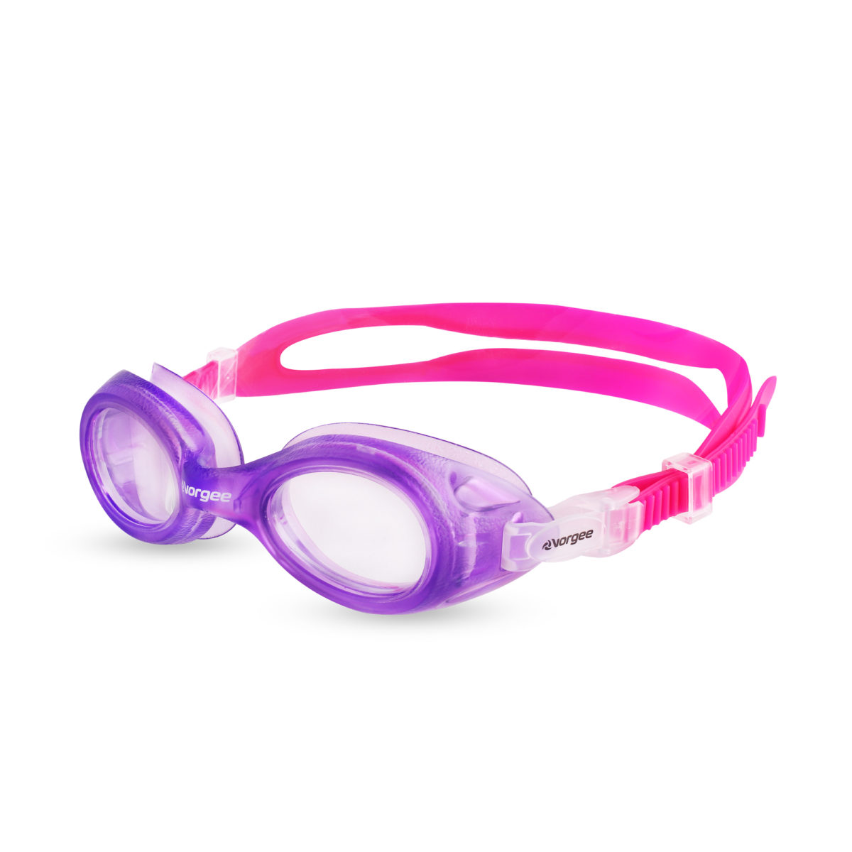 Voyager Jnr Clear - purple & pink
