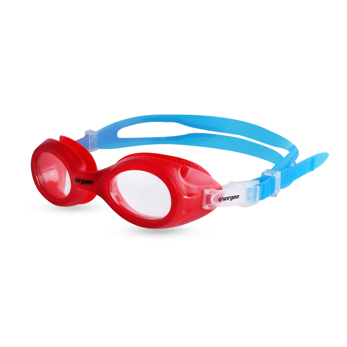 Voyager Jnr Clear - red & blue