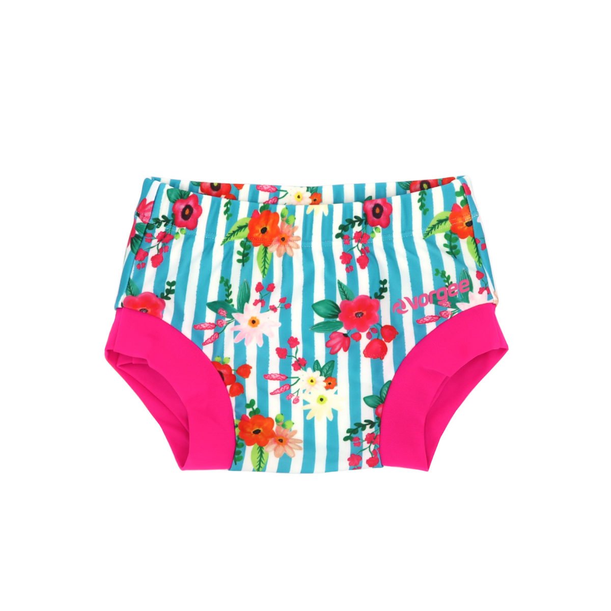 Little Kozzie Swim Nappy - Poppy