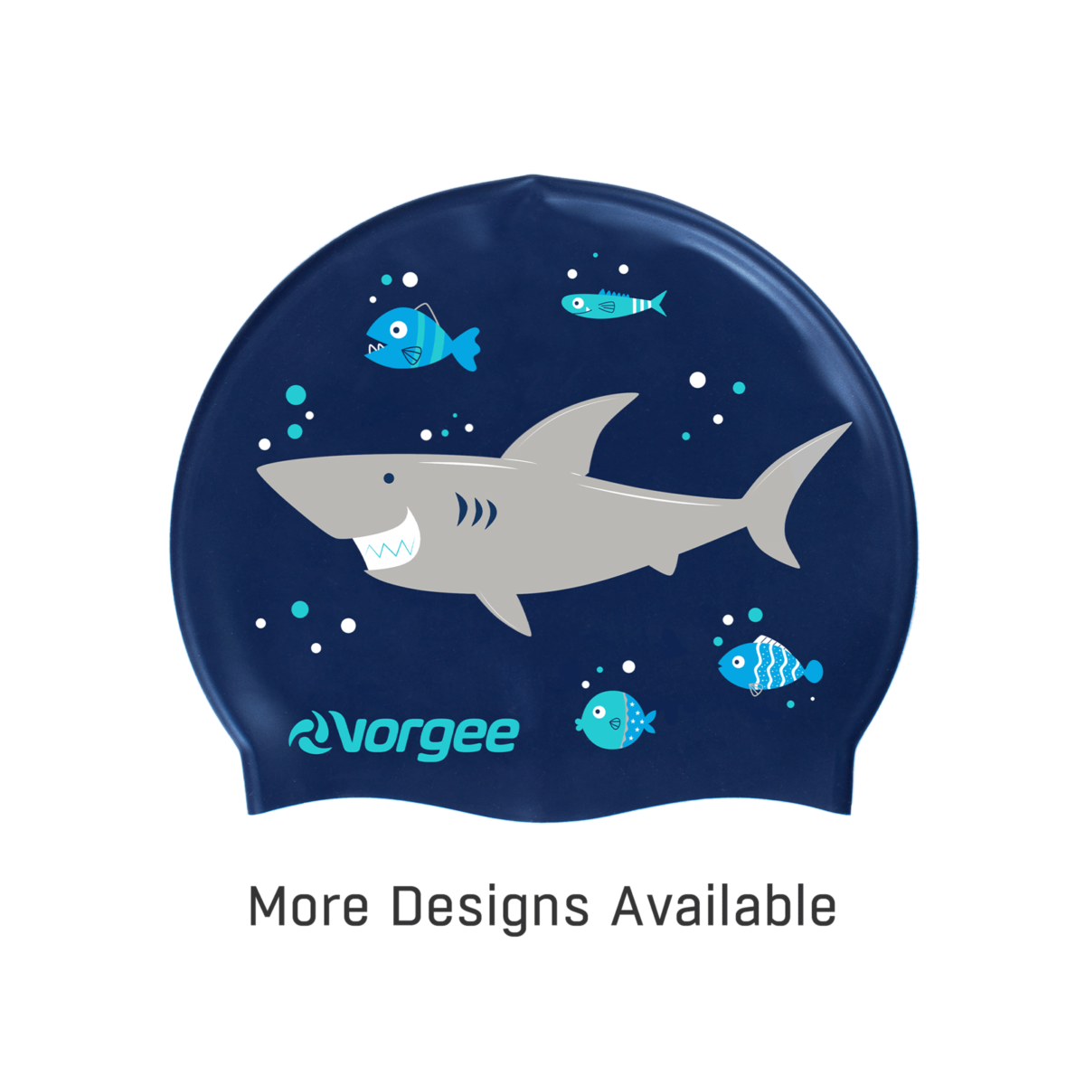 Cover Image - Shark - Vorgee Junior Silicone Character Cap (web image)